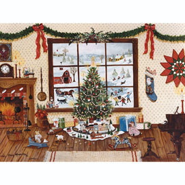 Christmas Morning 1000 Piece Jigsaw Puzzle