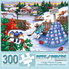 Skating Today 300 Large Piece Jigsaw Puzzle