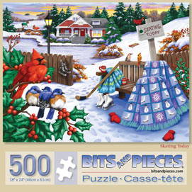 Skating Today 500 Piece Jigsaw Puzzle