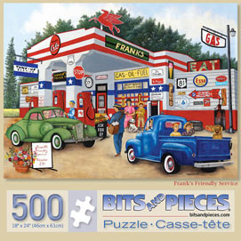 Frank's Friendly Service 500 Piece Jigsaw Puzzle