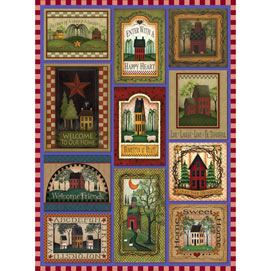 Our Happy Home Quilt 500 Piece Jigsaw Puzzle