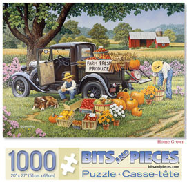 Home Grown 1000 Piece Giant Jigsaw Puzzle