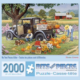 Home Grown 2000 Piece Giant Jigsaw Puzzle