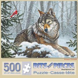 Winter Friends 500 Piece Jigsaw Puzzle