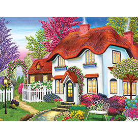 Kodak Cozy Cottage 550 Piece Jigsaw Puzzle