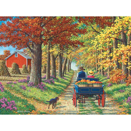 Shady Lane 300 Large Piece Jigsaw Puzzle