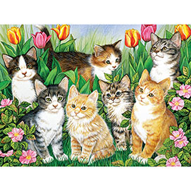 Kitty Companions 300 Large Piece Jigsaw Puzzle