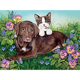 Forever Friends 300 Large Piece Jigsaw Puzzle