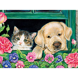 The Open Window 1000 Piece Jigsaw Puzzle