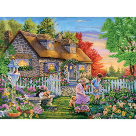 The New Gardener 500 Piece Jigsaw Puzzle