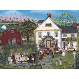 The Farmer's Daughter's Wedding 1000 Piece Jigsaw Puzzle