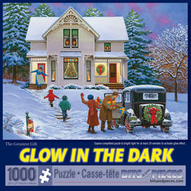 The Greatest Gift 1000 Piece Glow-In-The-Dark Jigsaw Puzzle