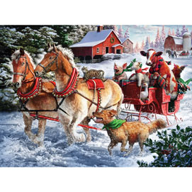 Taking A Ride 300 Large Piece Jigsaw Puzzle