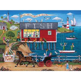 Today's Catch Fish Market 1000 Piece Jigsaw Puzzle