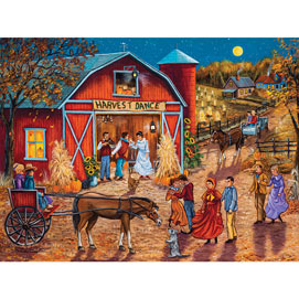 Mark's Harvest Jamboree 500 Piece Jigsaw Puzzle