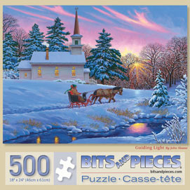 Guiding Light 500 Piece Jigsaw Puzzle