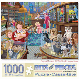 Newest Member Of The Family 1000 Piece Jigsaw Puzzle