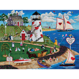 Hopeful Heart Light 300 Large Piece Jigsaw Puzzle