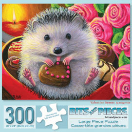 Valentine Sweets 300 Large Piece Jigsaw Puzzle
