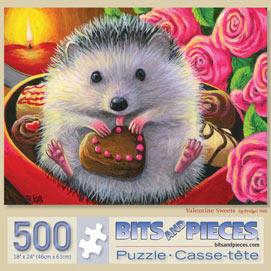 Valentine Sweets 500 Piece Jigsaw Puzzle