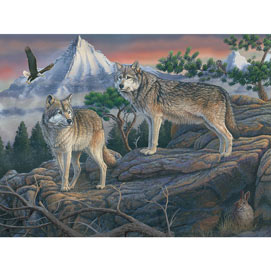 Mountain Spirit 300 Large Piece Jigsaw Puzzle