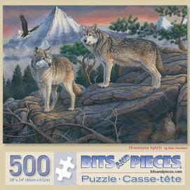 Mountain Spirit 500 Piece Jigsaw Puzzle