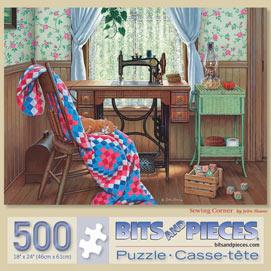 Sewing Corner 500 Piece Jigsaw Puzzle