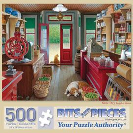 Slow Day 500 Piece Jigsaw Puzzle