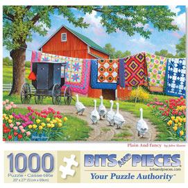 Plain And Fancy 1000 Piece Jigsaw Puzzle