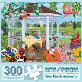 Garden Gazebo 300 Large Piece Jigsaw Puzzle