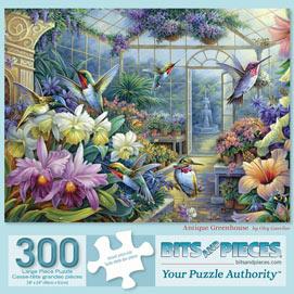 Antique Greenhouse 300 Large Piece Jigsaw Puzzle
