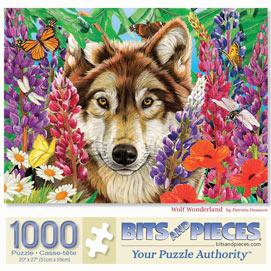 Wolf Wonderland 1000 Piece Jigsaw Puzzle