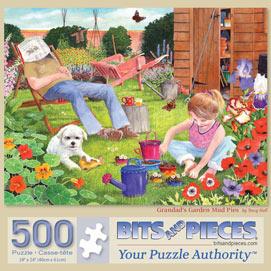 Grandad's Garden Mud Pies 500 Piece Jigsaw Puzzle