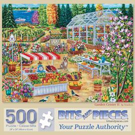 Garden Center II 500 Piece Jigsaw Puzzle