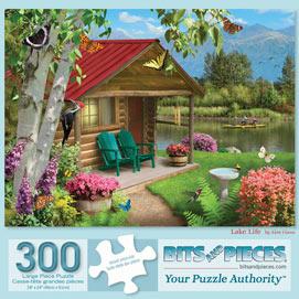 Lake Life 300 Large Piece Jigsaw Puzzle