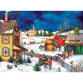 Home Again for Christmas 1000 Piece Jigsaw Puzzle