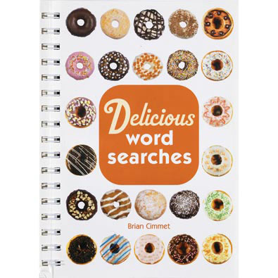 Delicious Word Search Book