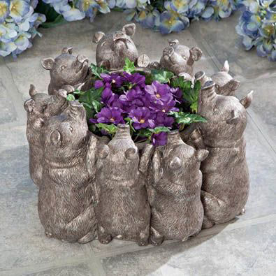 Piggies Planter