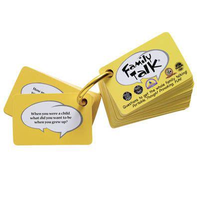 Family Talk Portable Card Game
