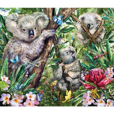Koalas 200 Large Piece Jigsaw Puzzle