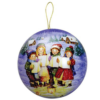 Holiday Jigsaw Ornament Carolers 100 Large Piece Jigsaw Puzzle
