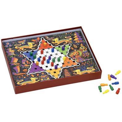 Retro Chinese Checkers