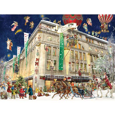 Christmas In Cologne 500 Piece Jigsaw Puzzle