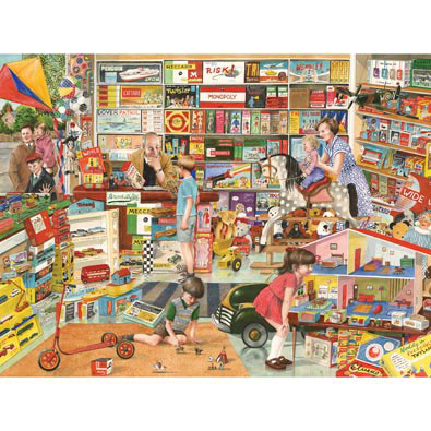 Toy Shop 300 Large Piece Jigsaw Puzzle