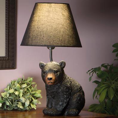Bear Cub Lamp