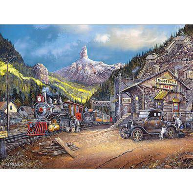 Nuggetville 1920 750 Piece Jigsaw Puzzle