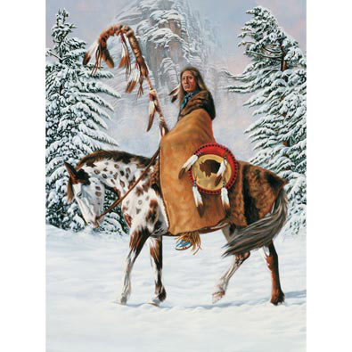 Red Cloud 300 Large Piece Jigsaw Puzzle