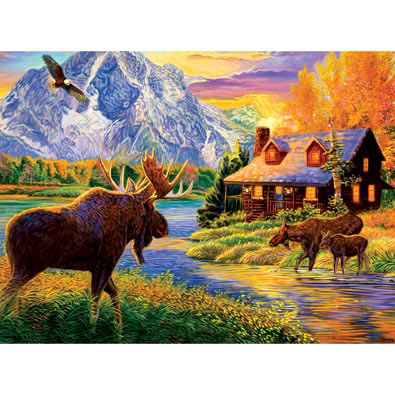 Autumn Glow 300 Large Piece Jigsaw Puzzle