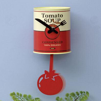 Tomato Soup Pendulum Clock