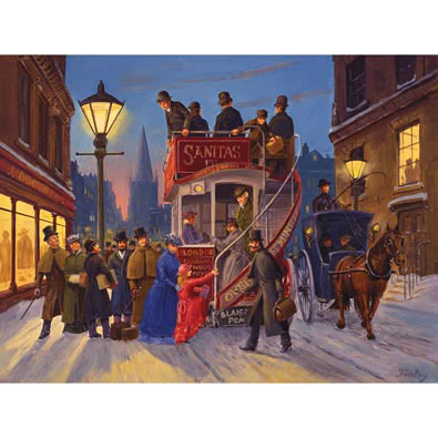 Holiday Ride Home 500 Piece Jigsaw Puzzle